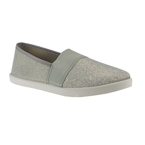 Les Fashion4young Silber Appartements 10 Appartements Femmes Multicolore Rose Les Loafer Hqwnd4npO