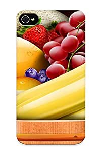 Defender Case With Nice Appearance (fruit Bowl ) For Iphone 4/4s / Gift For New Year's Day