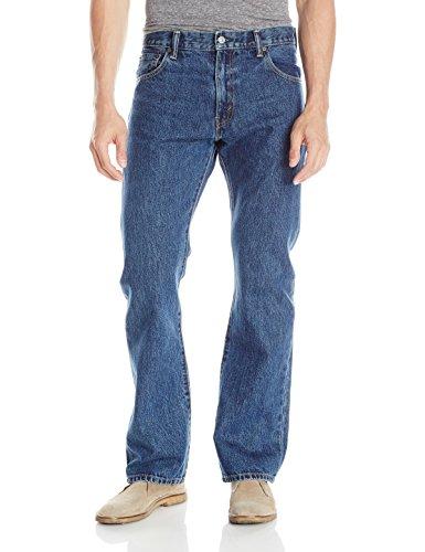 Levi's Men's 517 Boot Cut Jean, Dark Stonewash, 38x34 (Zip Jeans)