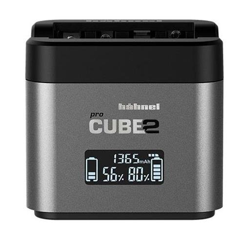 Hahnel PROCUBE2 Professional Twin Battery Charger for Nikon DSLR Cameras