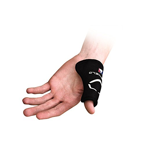 EvoShield MLB Catcher's Thumb Guard - Black, Small/Medium