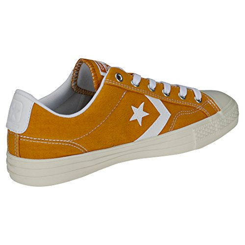 Converse Multicolor 702 Player Unisex white turmeric Ox Adulto Lifestyle Gold Zapatillas Star white ZqrZpH