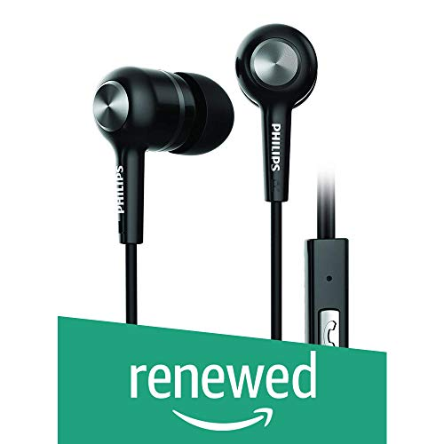 (Renewed) philips Earphone SHE1505BK (Black)