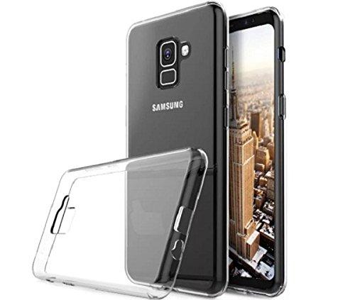 Capa Tpu Transparente + Película de Vidro Samsung Galaxy A8 A530 2018
