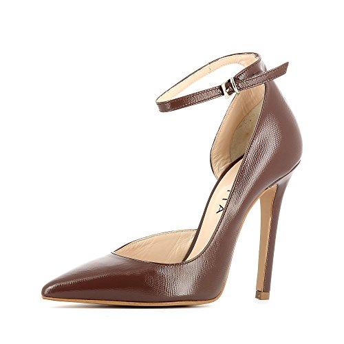 Shoes Zapatos Lisa Mujer De Para Marrón Evita Vestir Piel 4dvHxdAn