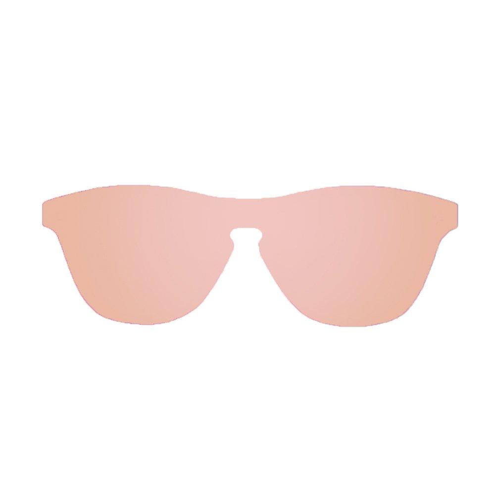 Ocean Eye Gafas de sol, Rosa/Grigio, 55 Unisex Adulto