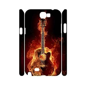 case Of Guitar Customized Hard Case For Samsung Galaxy Note 2 N7100