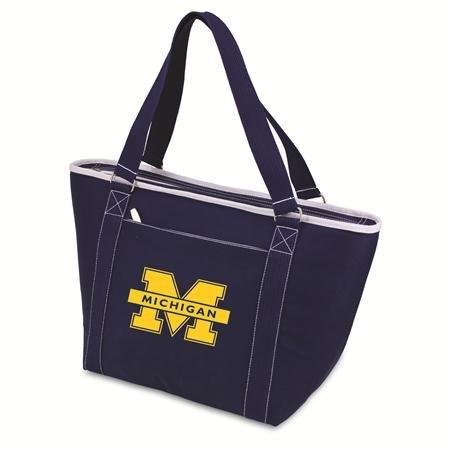 (NCAA Michigan Wolverines Topanga Insulated Cooler Tote )
