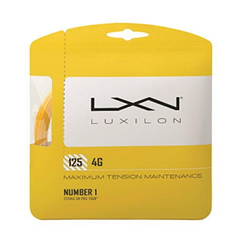 plateado 12.2 m Luxilon Alu Power Soft Cordaje de tenis unisex 1.25 mm