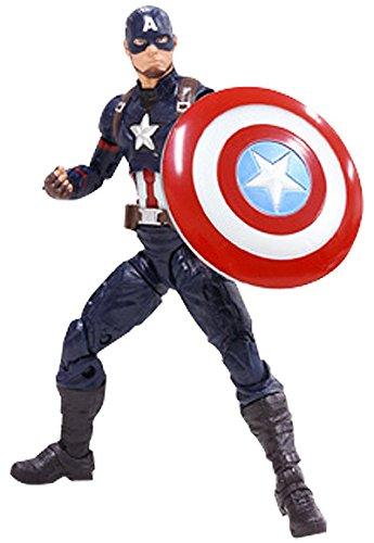 キャプテン・アメリカ 「シビル・ウォー/キャプテン・アメリカ」 シリーズ2.0 ハズブロアクションフィギュア 6インチ レジェンド
