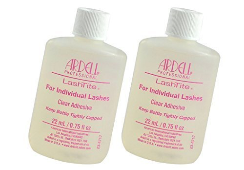 Ardell Lashtite Eyelash Adhesive Glue-Clear Individual Eyelash Adhesive Specially Formulated For Use With Duralash - Size 0.75 fl oz / 22ml
