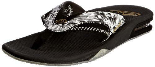 Reef Fanning - Chanclas para hombre Blanco (Weiß (White Icon))