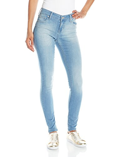 Celebrity Pink Jeans Women's Infinite Stretch Mid Rise Skinny Jean, Outsiders Wash, 3 (Best Rated Skinny Jeans)