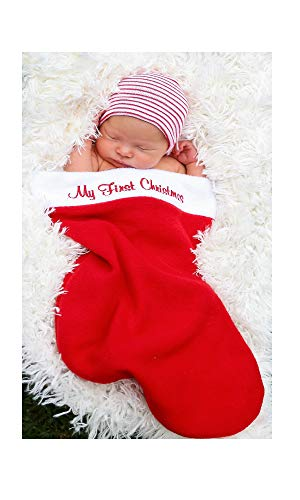 - Nurses Choice Baby's First Christmas Stocking and Newborn Hat (Classic Cap)