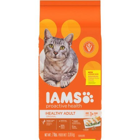Iams Proactive Healthy Adult Original Chicken Dry Cat Food (Pack of 2)