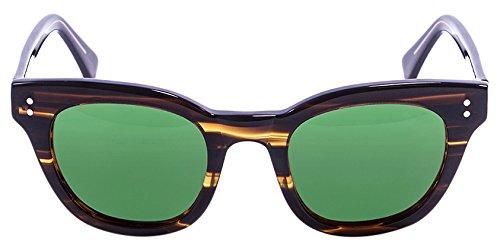 Lenoir Eyewear LE22.1N Lunette de Soleil Mixte Adulte, Bleu