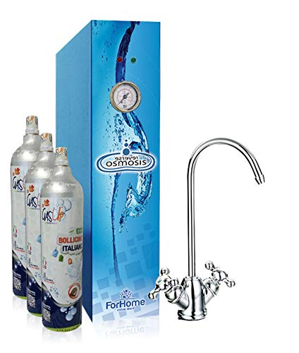 Purificador agua por ósmosis inversa directa para casa-2VÃas lisa y gassata-