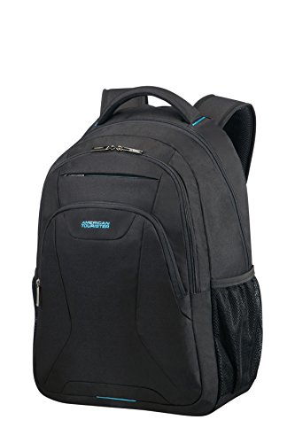Tourister American compartment 45 Black Work AT cm 5 Backpack Notebook HFqFvdw