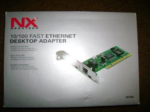 NexxTech 10/100 Fast Ethernet Desktop Adapter NPCINIC by NexxTech