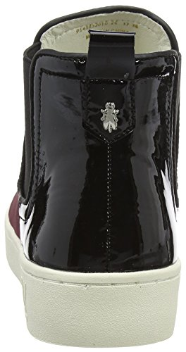 Fly Londra Damen Mabs832fly High-top Rot (bordeaux / Nero)