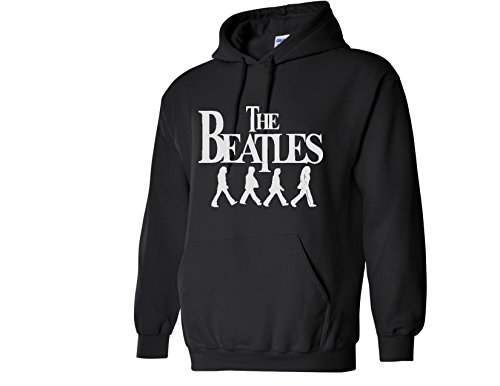 Beatles Band Vintage Black Sweatshirt Hoodie For Men