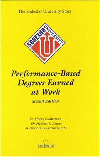 Read Online Performance-Based Degrees Earned at Work pdf epub