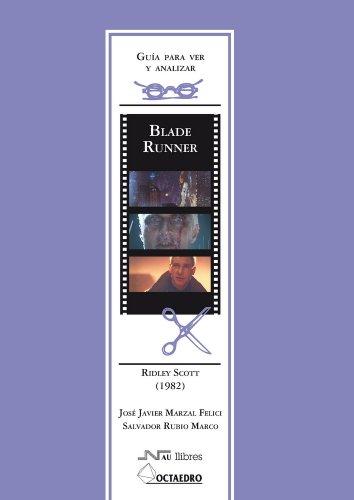 Descargar Libro Guía Para Ver Y Analizar : Blade Runner. Ridley Scott José Luis Barrera Calahorro