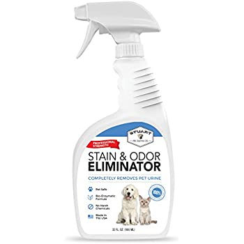 Stuart Pet Supply Co. Professional Strength Pet Stain and Odor Eliminator - Urine Odor Remover - Pet Urine Enzyme Cleaner - Enzymatic Cleaner for Dog Urine and Cat Urine