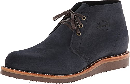 Chippewa Men's Modern Suburban Navy Suede Shoes Navy 10.5 E US