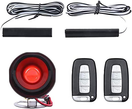 amazon com niome passive keyless entry car alarm system engineamazon com niome passive keyless entry car alarm system engine start button remote engine start fits for most dc12v cars car electronics