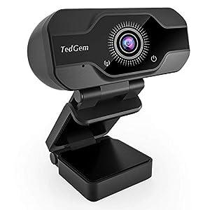 Flashandfocus.com 41K19lEqzpL._SS300_ HD Pro Webcam, TedGem 8MP Fixed Focus 4K/1080P Full HD Webcam USB Webcam Desktop Laptop Camera Live Streaming Webcam…