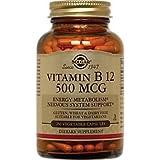 Solgar – Vitamin B12, 500 mcg, 250 Vegetable Capsules Review