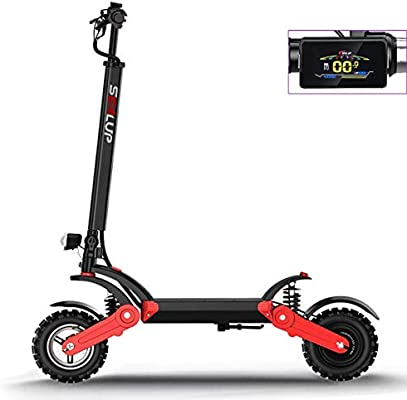 WXJZ Patinete Electrico,500W Scooter Electrico Patinete ...