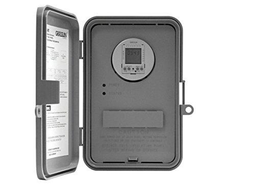 Intermatic GM40AV-Q Timer, 40A 120-277V DPDT Auto-Voltage w/Type 3R Plastic Enclosure by Intermatic (Image #1)