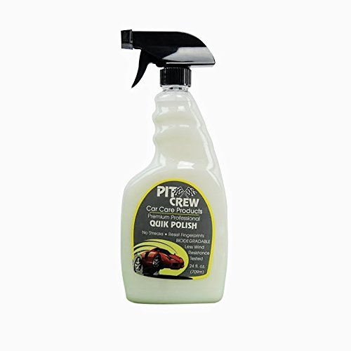 Professional Quick Polish Liquid Car Wax in Big 24oz. Spray Bottle   Use After Car Wash for Unbelievable Deep Shine   15 Minutes Gives Your Vehicle Shine & Protection (24 oz.)