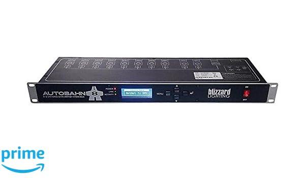 Amazon com: Blizzard Autobahn 8 DMX/ArtNet Interface Control