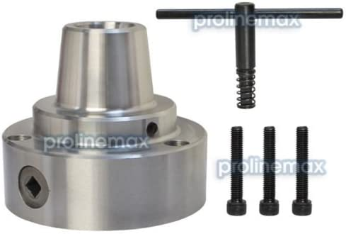 5C Collet Chuck with plain back mounting lathe use Chuck Dia  Mount