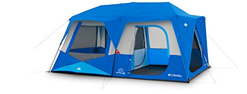 Columbia Sportswear Fall River 8 Person Instant Dome Tent (Compass Blue) 8' Dome Tent