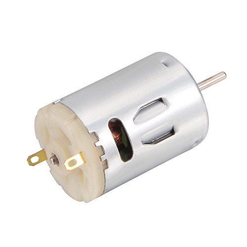 DC 12V 10000RPM Mini Magnetic Motor for Smart Cars DIY Toys by uxcell (Image #2)