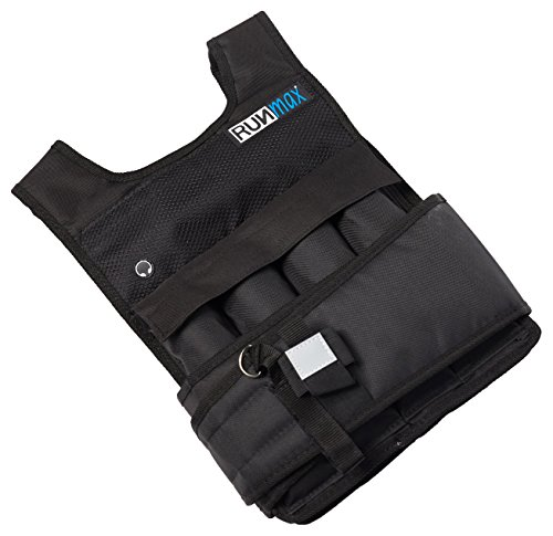 RUNFast RM_20 Pro Weighted Vest, 20 lb.