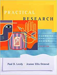 practical research planning and design 8th edition pdf free download