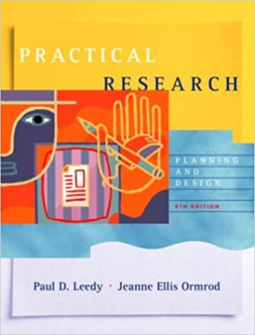 Practical research planning and design 8th edition paul d leedy practical research planning and design 8th edition 8th edition fandeluxe Gallery