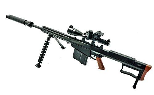 1/6 Scale M82A1 Anti-Materiel Rifle Barrett US Army Gun GI JOE Fit For 12
