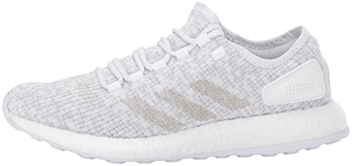 Pictures of adidas Men's Pureboost Grey ONE/White S81991 White/Grey One/White 5