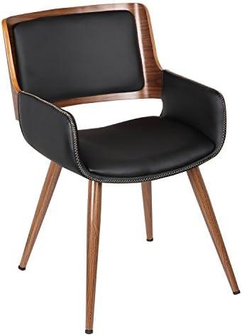 ELEGAN PU Top Bentwood Leisure Chair