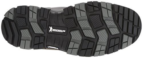 Columbia Mænds Bugaboot Plus Omni-varme Michelin Bred Sne Boot Trækul, Lyse Rødt