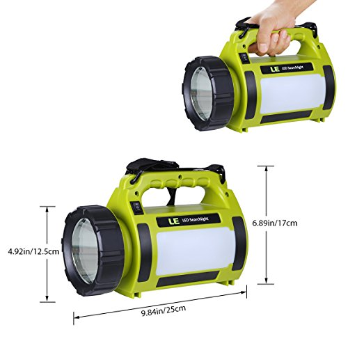 le rechargeable led cing lantern 3600mah power bank