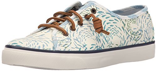 Sperry Damen Seacoast Fish Crcle Sneaker Blue