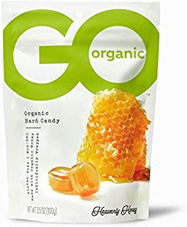 product image for GoOrganic Organic Hard Candies, Honey, 3.5 Ounce Bag (Pack of 6)-SET OF 4