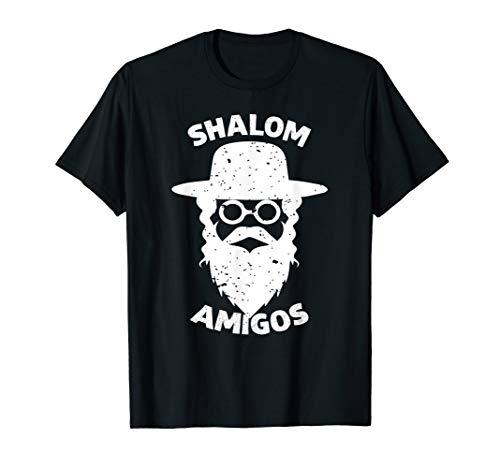 SHALOM AMIGOS Hebrew Jewish Rabin Shirt